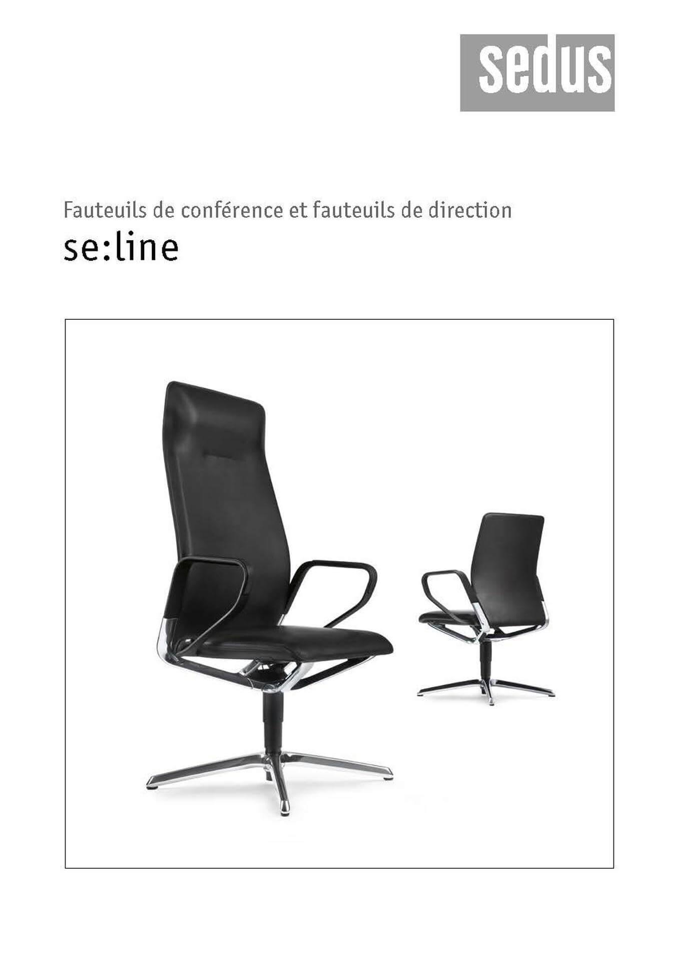 JCD SEDUS fauteuil direction se line franz Original Page 01