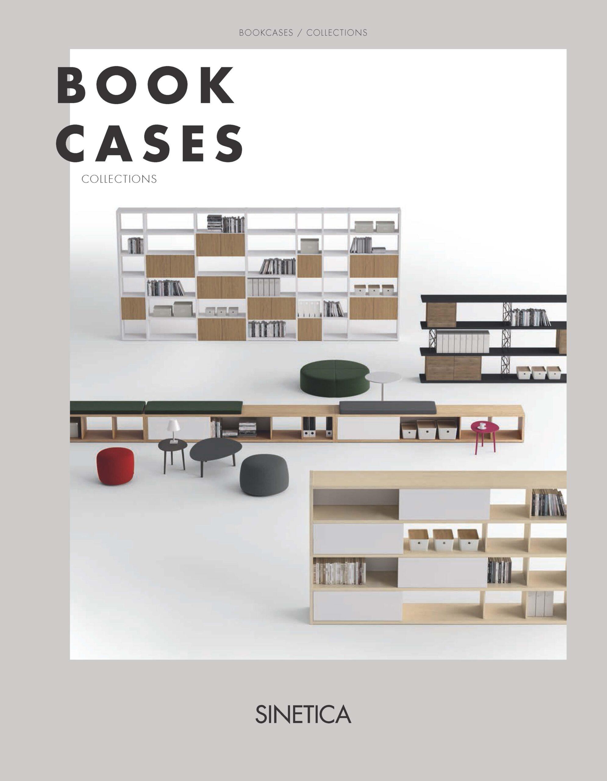 JCD Sinetica BOOKCASES armoires etageres et niches de bureau Page 1